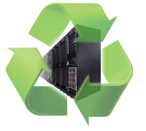 "Recycling Symbol–like graphic depicting ""Reduce – Reuse – Refresh"""